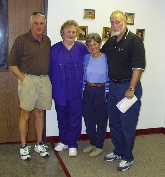 Ronnie, Lucille, Linda, Mike